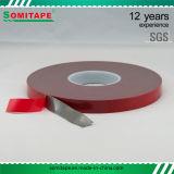 Cinta adhesiva de acrílico gris de Sh362 Vhb para la fijación de la publicidad al aire libre