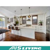 白く光沢度の高いラッカー(AIS-K166)が付いている現代食器棚の家具