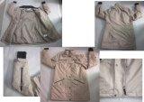 Yj-1076 겨울 남자 Mens를 위한 Windstopper에 의하여 일렬로 세워지는 노란 Softshell 재킷