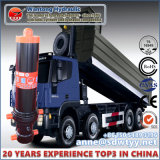 Cilindro hidráulico Front-End de Wantong para o cilindro do caminhão de descarga com tampa exterior