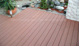 Feito em China Wood Plastic Composite Decking Laminate Flooring