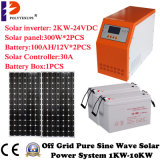 혼자서 태양 에너지 시스템이 5kw에 의하여 태양 에너지 시스템 대 집으로 돌아온다