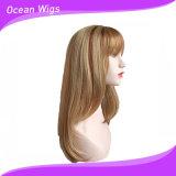 Parrucca sintetica popolare dei capelli con colore chiaro