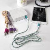 Förderung-Nylonmikro USB-Daten-Aufladeeinheits-Kabel für Android