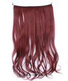 Flip волны синтетических волос верхнего качества Weft свободный в выдвижении волос