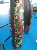 Prix gonflable de bateau de pêche de qualité de camouflage bon