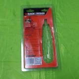 Emballage transparent de bloc supérieur de PVC avec la carte de papier pour le tournevis