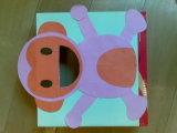 Vitrina de madera con espejo / Cajón de papel Caja con espejo