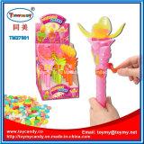 Stuk speelgoed van Shantou van de Bloem van Lotus van de flits het Plastic met Suikergoed