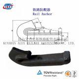 High Tensil Rail Anchor para Fixação ferroviária de trilho de aço
