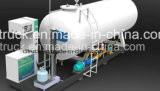 ASMEの標準給油所20トンの40m3 LPGシリンダーガスの