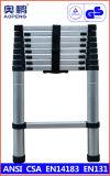 Telescopische Ladder van het Aluminium van de Uitbreiding van de Kruk van de Stap van het Huishouden van het staal de Uiteindelijke (ap-507-260)