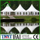 Baldacchino esterno della tenda del Pagoda delle 100 genti