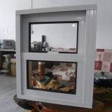 Puder beschichtete den gerundeten Aluminium Verschluss anheben oben u. unten Fenster Kz072