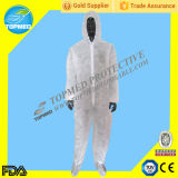 Устранимый Coverall PP/SMS/Microporous Nonwoven,