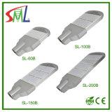 Alta luz de calle de Qualityled con la garantía de los años de la farola With3 del programa piloto 150W LED de Sml (SL-150B8)