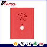 O telefone Handsfree Knzd-13 do telefone elevado da resistência do vândalo escolhe telecomunicações da tecla