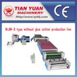 짠것이 아닌 접착제 자유로운 메우는 물건 생산 라인 (WJM-3)