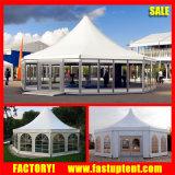 8m 10m 12m 결혼식을%s 알루미늄 육각형 Pagoda 돔 천막