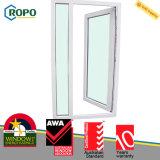 날씨 저항 UPVC/PVC 태풍 충격 여닫이 창 문