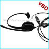 Cuffia avricolare durevole biauricolare del telefono con il connettore del USB (VB-1002NC-USB)