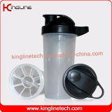 Eco-Friendly 700ml Plastic Custom Protein Shaker Bottle с оптовиком Filter (KL-7031)