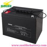 Bateria profunda solar 12V80ah do gel do ciclo para o instrumento médico