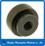 Noix moletée de pouce d'opération plate de DIN647 DIN 647