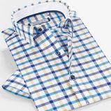 고품질 면 Mens 여름 셔츠