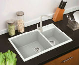 Les meilleurs bassins de composé de bassin de cuisine de Silgranit de granit