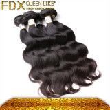 白いラベルの人間の毛髪の製品の完全なクチクラのRemyの毛の織り方