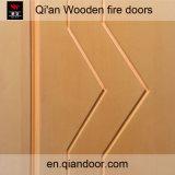 Puerta incombustible de madera de la chapa de Mandshurica del Fraxinus