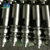 Válvula de control neumática sanitaria de flujo de Ss316L