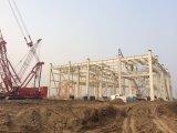 Estructura de acero prefabricada de la estructura de acero de la luz de la casa del material de construcción
