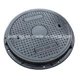 Menos diâmetro 600mm D400 de Noise e de Vibrates Manhole Cover