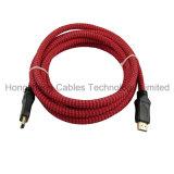 Câble HDMI de câble de prix bas avec le connecteur Gold-Plated