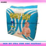 Baby Diaper de maman de la meilleure qualité de qualité avec du coton Topsheet
