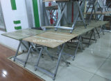 Metal Legs (LL-CFT010)の木製のRestaurant Folding Portable Dining Table