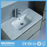 熱い光沢のラッカー現代様式の家具の浴室用キャビネット(BF129M)