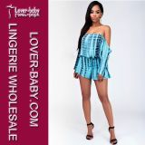 Il vestito sexy di Playsuit Clubwear delle signore da usura calda di modo copre (L55201-1)