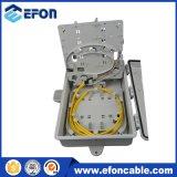 옥외 FTTH 24 운반 섬유 Opitc 케이블 배급 상자