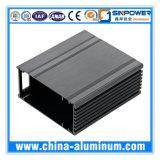 Aluminium verdrängte Aluminium mit der maschinellen Bearbeitung und Oberflächenbehandlung