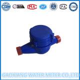 Trockenes Vorwahlknopf-Wasserstrom-Plastikmeßinstrument