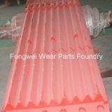 L'usura del frantoio a mascella parte la fonderia del pezzo fuso