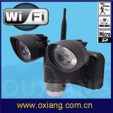 PIR (ZR720)のWiFiの動きセンサーDVR LEDの機密保護ライトカメラ