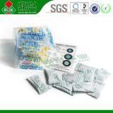Verwendete das Feuchtigkeits-saugfähige Trockenmittel bereift Silikagel-Paket