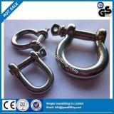 普及したタイプ高品質のステンレス鋼のねじれの手錠