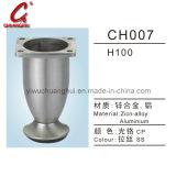 鉄のハードウェアの家具のソファーの足(CH007)