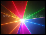 выставка лазерного луча полного цвета 1W RGB с одушевленност (J1-1000)