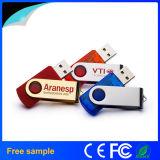 고품질 무료 샘플을%s 가진 고아한 회전대 USB 섬광 드라이브
